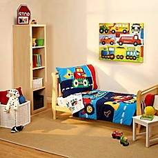 Everything Kids By Nojo Under Construction 4 Piece Toddler Bedding Set