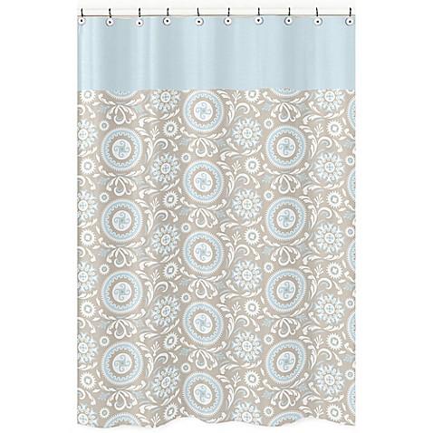 Sweet jojo designs hayden shower curtain bed bath beyond for Sweet jojo designs bathroom