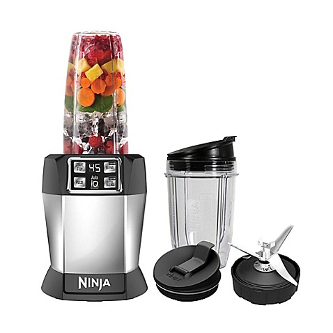 Nutri Ninja® 8-Piece One-Touch Intelligence Extractor Blender Set with Auto-iQ™