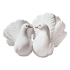 image of Lladro Couple of Doves Porcelain Figurine
