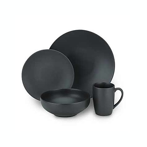 Gibson Home Paradiso Dinnerware Collection in Black  sc 1 st  Bed Bath u0026 Beyond & Gibson Home Paradiso Dinnerware Collection in Black - Bed Bath u0026 Beyond