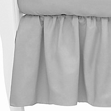 image of tl care mix u0026 match cotton percale crib skirt