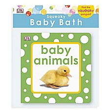 image of DK Publishing Squeaky Baby Bath Baby Animals Book
