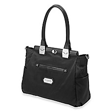 image of Cake by Petunia Pickle Bottom Café Carryall in Black Chai Tea