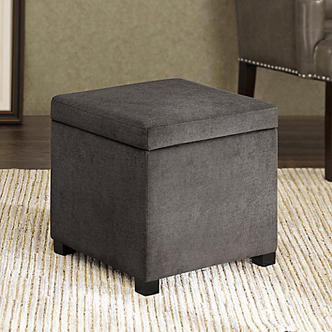 Buy Regency Heights Maddox Small Cube Storage Ottoman In