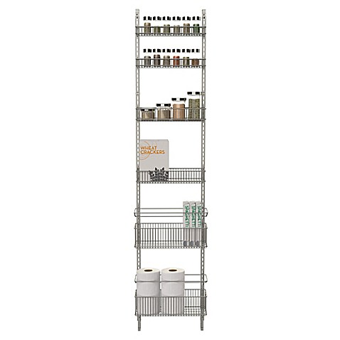 Charming ORG Premium Over The Door Steel Frame Pantry Organizer