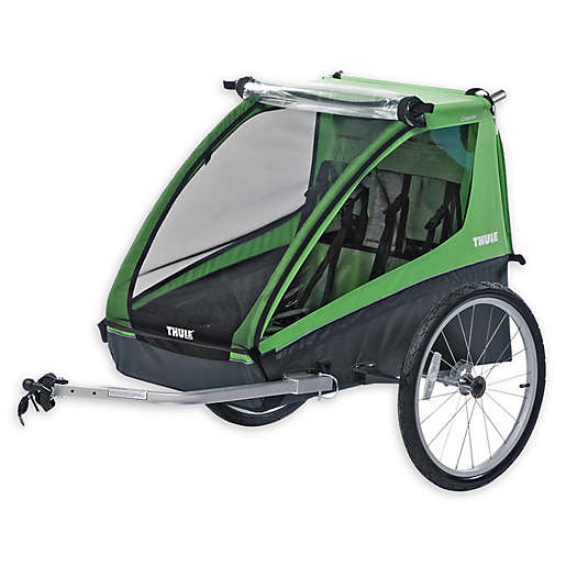 Thule® Cadence Double Child Bicycle Trailer. View a larger version of this product image.
