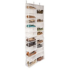 Image Of Closetware Clear Over The Door 26 Pocket Shoe Organizer