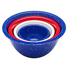 image of Zak! Designs® Confetti Nesting Mixing Bowls (Set of 4)