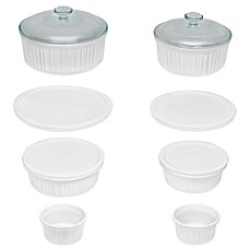 image of CorningWare® French White® 12-Piece Bakeware Set