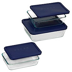 image of Pyrex® Simply Store® 6-pc Rectangular Set