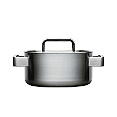 image of iittala Tools Stainless Steel Covered Casserole with Lid