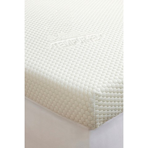 Tempur Pedic Reg Topper Supreme 3 Inch Mattress In White
