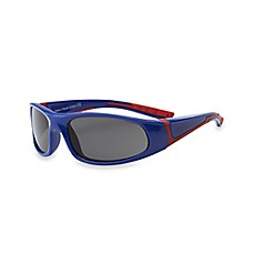 image of Real Kids Shades Bolt Polarized Sunglasses in Navy/Red