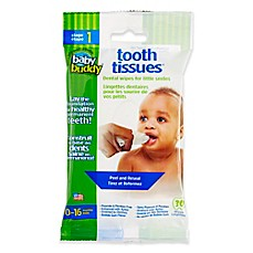image of Baby Buddy Tooth Tissues 30-Count Natural Dental Wipes