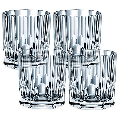 nachtmann aspen whiskey tumblers set of 4 bed bath beyond. Black Bedroom Furniture Sets. Home Design Ideas