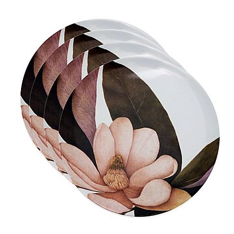 Buy caskata studio magnolia 4 piece canape plate set from for Canape plate sets