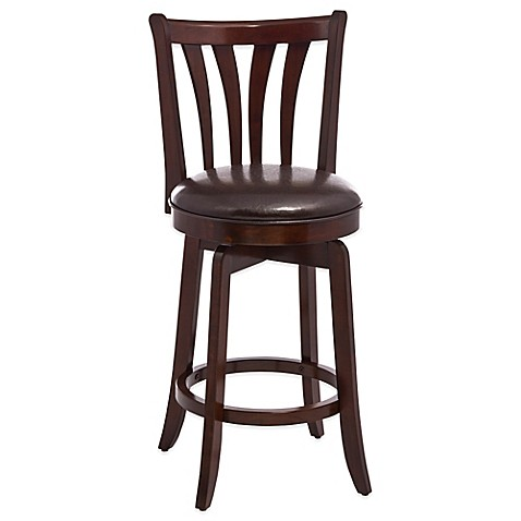 image of Hillsdale Whitman Swivel Counter Stool  sc 1 st  Bed Bath u0026 Beyond & Counter Stools Swivel Stools Metal u0026 Leather Bar Stools - Bed ... islam-shia.org