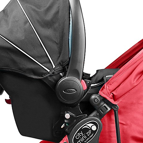 baby jogger city mini zip single car seat adapter for graco click connect buybuy baby. Black Bedroom Furniture Sets. Home Design Ideas