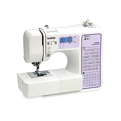 Brother SC9500 Computerized Sewing and Quilting Machine - Bed Bath ... : computerized sewing and quilting machine - Adamdwight.com