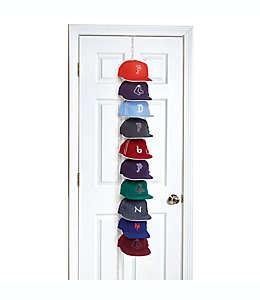 Organizador de aluminio Perfect Curve Cap Rack Pro™ para gorras color blanco