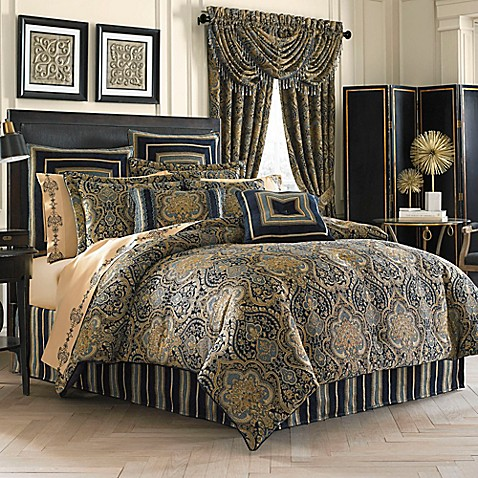 Bedroom Sets Bed Bath And Beyond j. queen new york™ venezia comforter set - bed bath & beyond