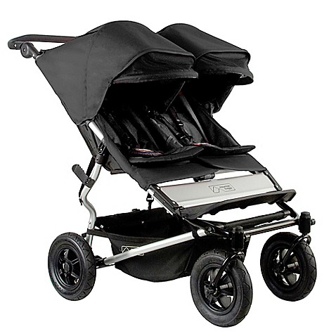 Mountain Buggy Duet Double Stroller In Black Buybuy BABY