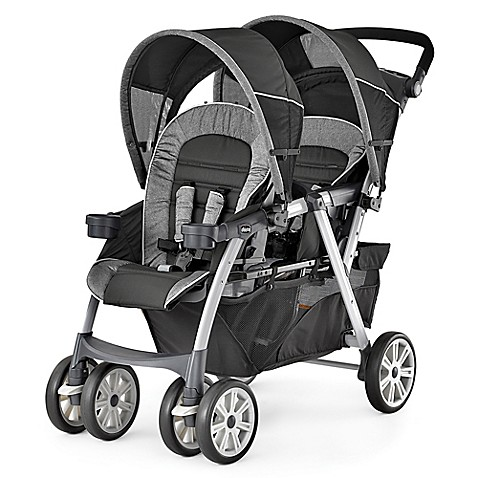 Chicco 174 Cortina Together Double Stroller In Avena