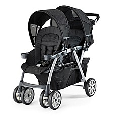 image of Chicco® Cortina Together Double Stroller in Ombra