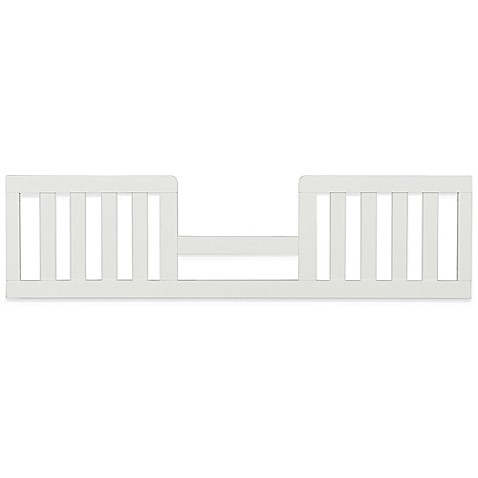Child craft soho toddler guard rail in white buybuy baby for Child craft soho 4 in 1 convertible crib in natural