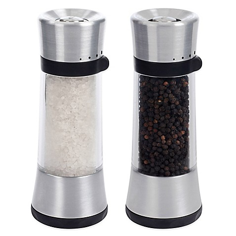 Oxo Good Grips Lua Salt And Pepper Mills Bed Bath Beyond