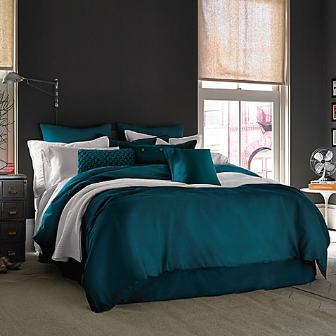 Kenneth Cole Reaction Home Mineral Duvet Cover Bed Bath