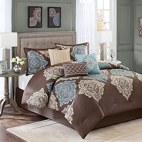 madison park monroe 7piece comforter set