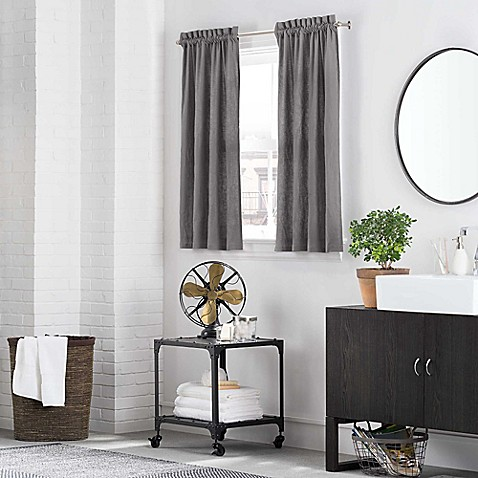 Kenneth Cole Reaction Home Bath Window Curtain Panel And