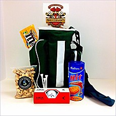 image of Fifth Avenue Gourmet Hit Em' Straight Golf Bag Cooler with Snacks