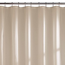 image of microfiber shower curtain liner