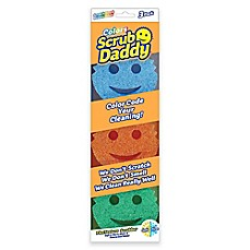 image of Scrub Daddy® 3-Piece Color Sponges Set