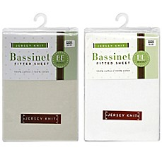 image of BE Basic™ Bambino Basics Jersey Knit Bassinet Sheet