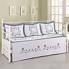 image of Daya Embroidered Daybed Bedding Set
