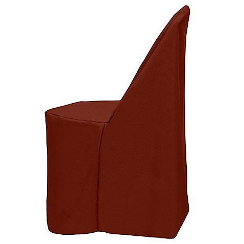 Basic Polyester Cover For Plastic Folding Chair Bed Bath