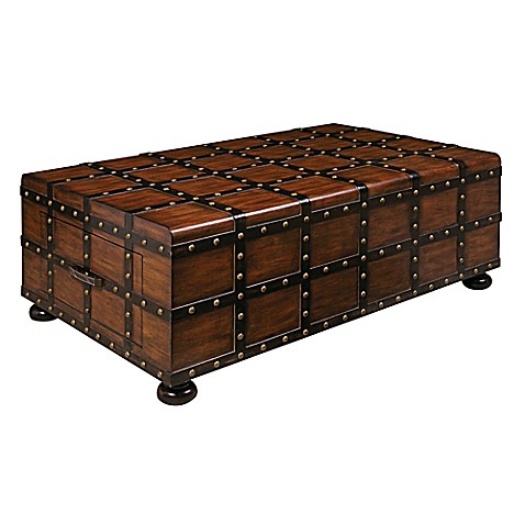 Buy Pulaski Steamer Trunk Cocktail Table From Bed Bath Beyond