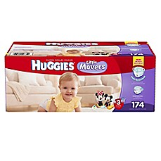 image of Huggies® Little Movers Size 3 174-Count Disposable Diapers
