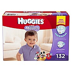 image of Huggies® Little Movers Size 5 132-Count Disposable Diapers