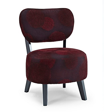 Buy Dwell Home Sphere Accent Chair in Red Sunflower from