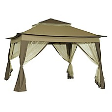 Image Of 10 Foot X 10 Foot Quick Set Up Folding Gazebo