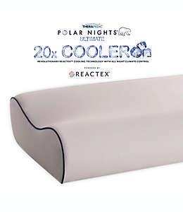 Almohada contorneada Therapedic® Polar Nights™ de enfriamiento 20x