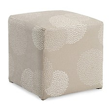 image of Dwell Home Axis Sunflower Cube Ottoman