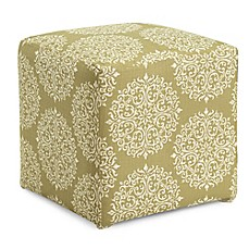 image of Dwell Home Axis Gabrielle Cube Ottoman