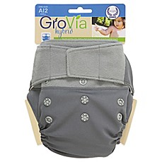 image of GroVia® Diaper Cover Shell in Cloud