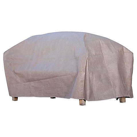 Buy Duck Covers Ottoman Coffee Table Cover With Duck Dome In 52 Inch L From Bed Bath Beyond